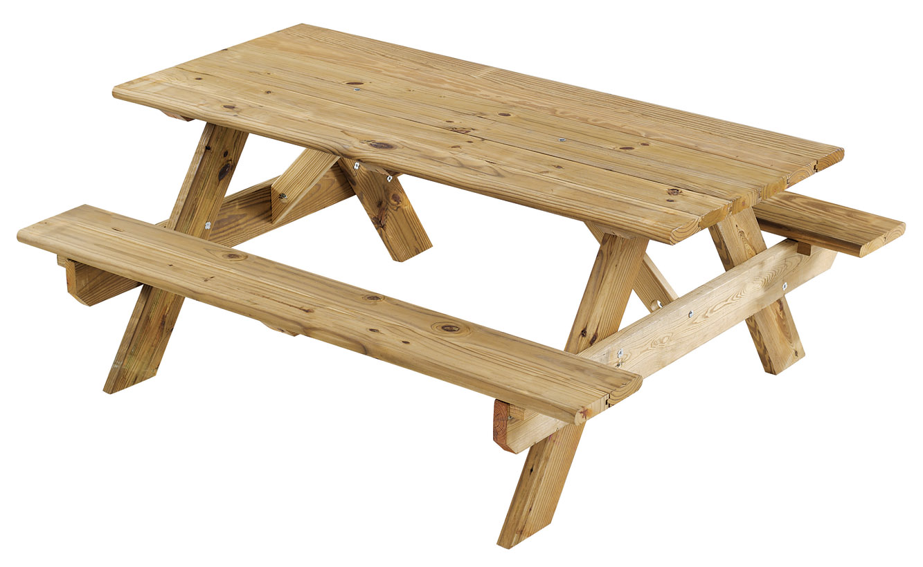 Wooden Picnic Table : s349409111475790302p11i1w1333 from www.upmovers.com size 1333 x 820 jpeg 176kB